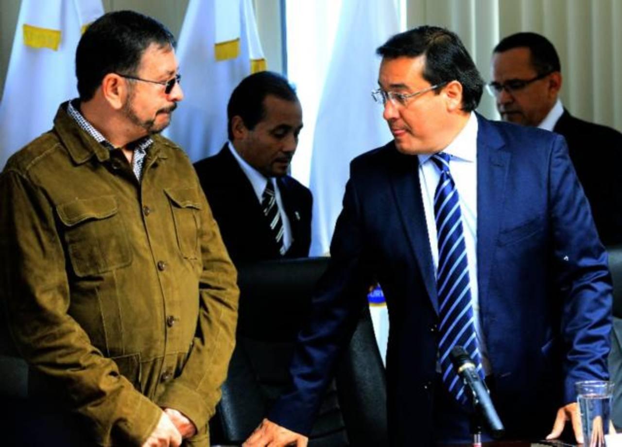 Munguía Payés y Luis Martínez