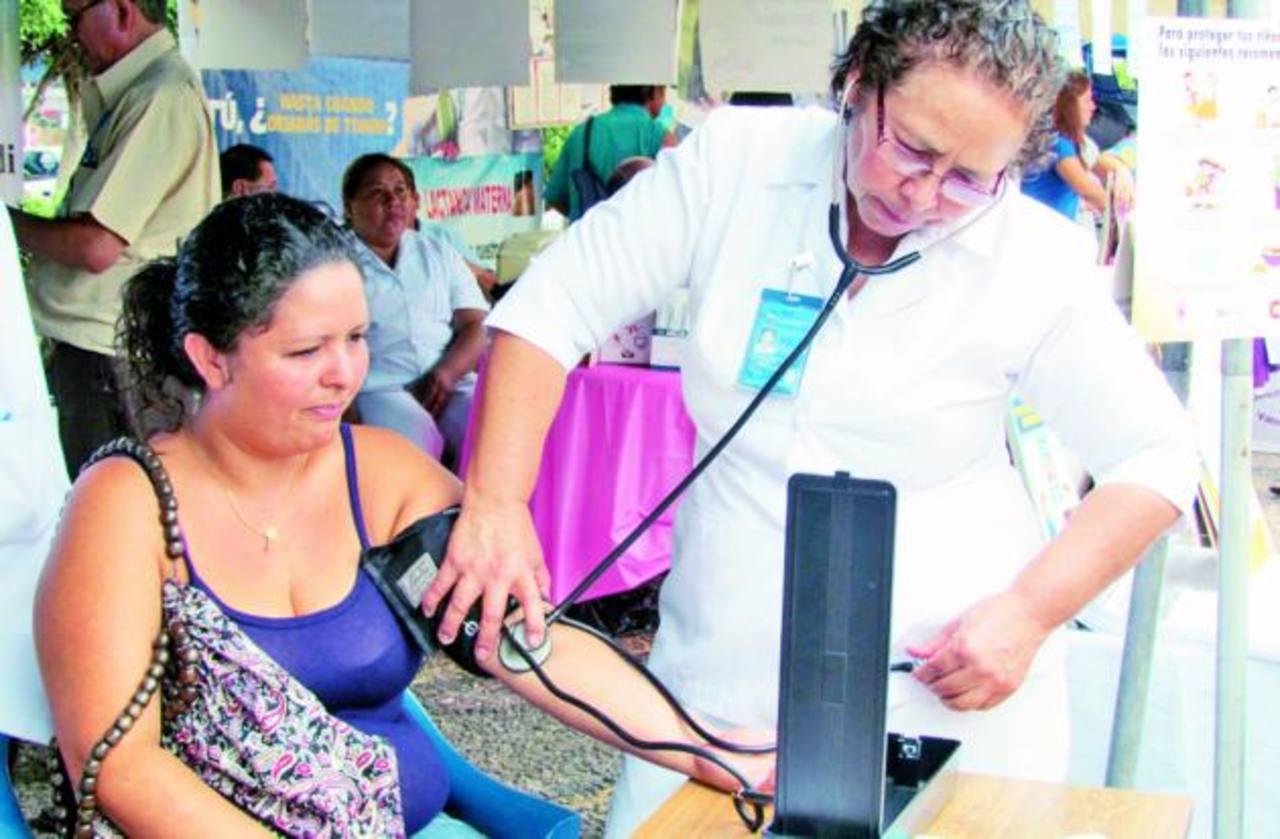 Uno de los objetivos era concienciar sobre la prevención. Foto EDH / Mauricio Guevara