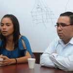 Jennifer y Jaime durante una entrevista concedida a este matutino. foto edh / MARLON HERNÁNDEZ