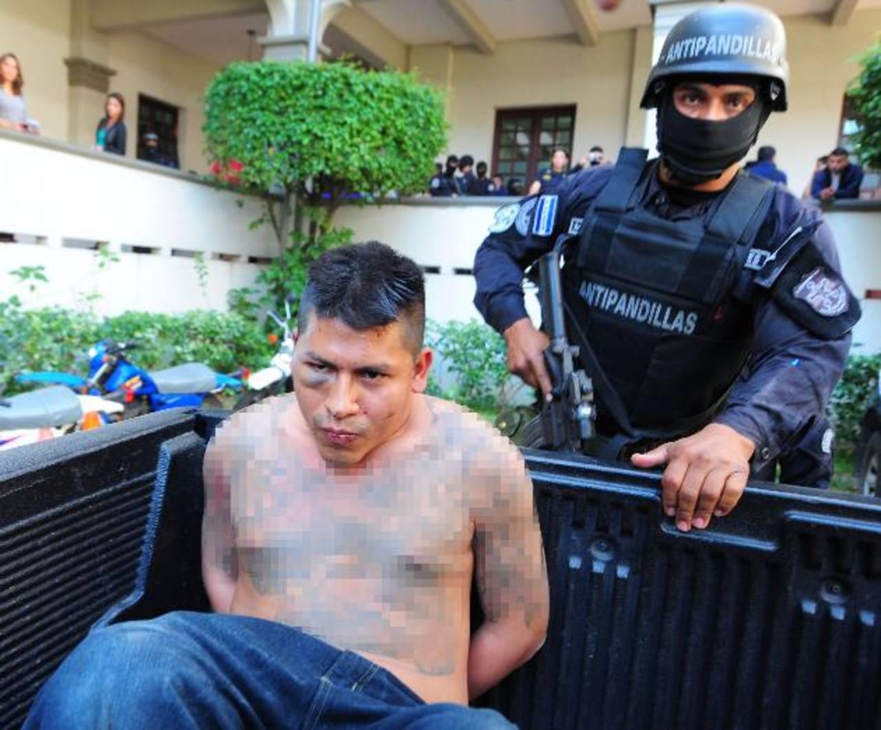 José Rafael Ortiz Jorge, alias El Tortuga, fue detenido meses atrás en el municipio de Apopa. Foto EDH / Archivo