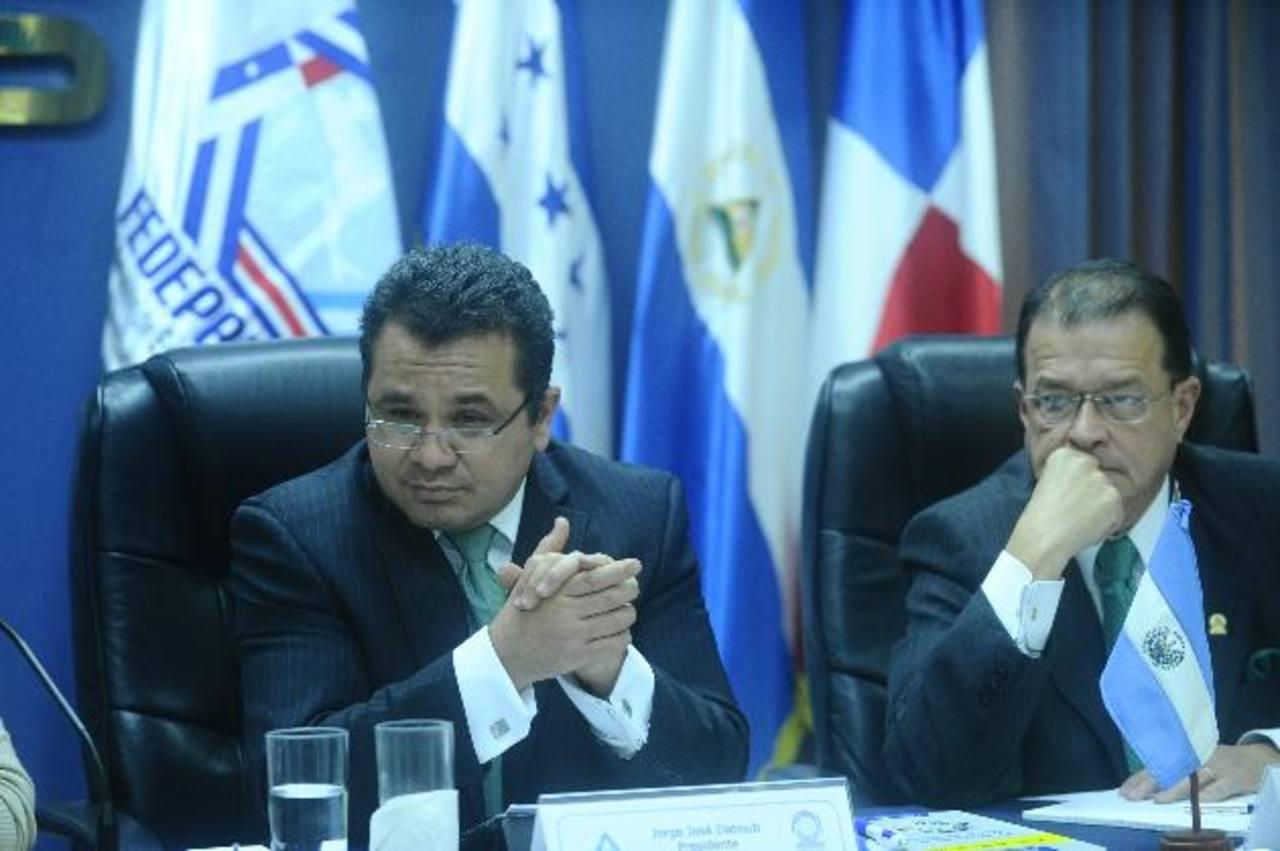 El presidente de la ANEP, Jorge Daboub, pide transparencia en la tregua. Foto EDH / Archivo.