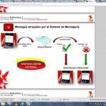 El logotipo del CNE, insertado en el manual del sistema electoral usado por los chavistas el día de los comicios. foto edh / INTERNET
