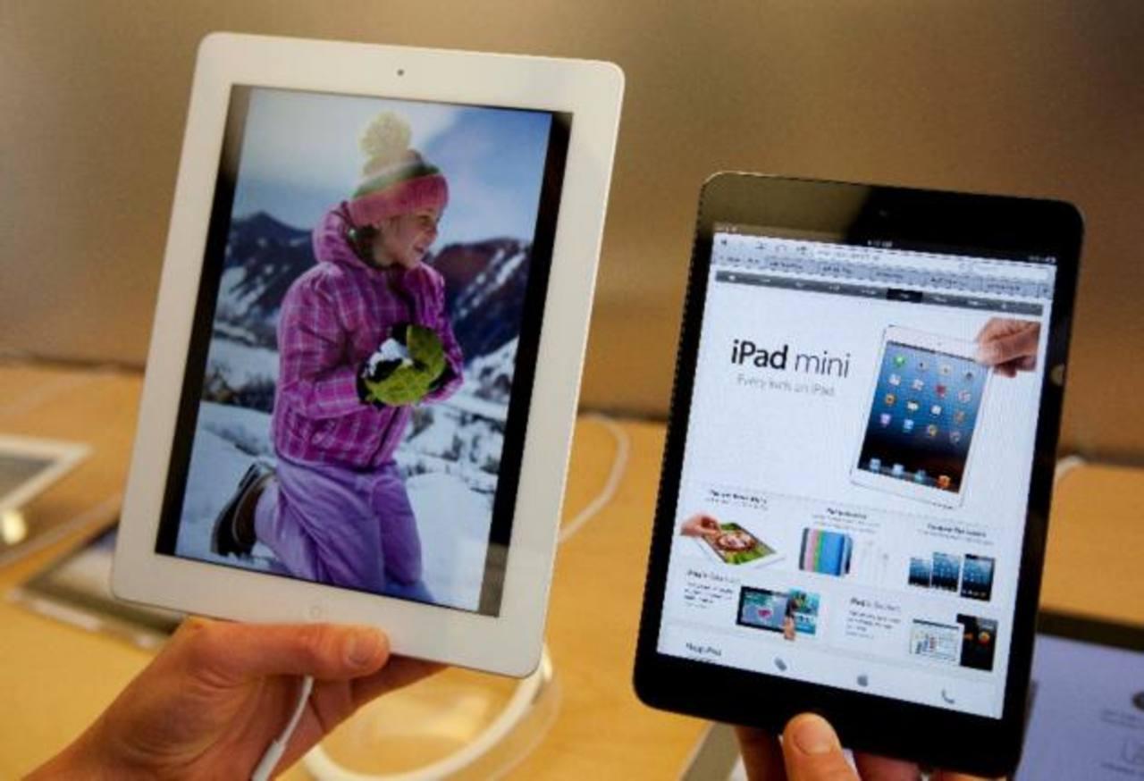 iPads lideran envío de tabletas