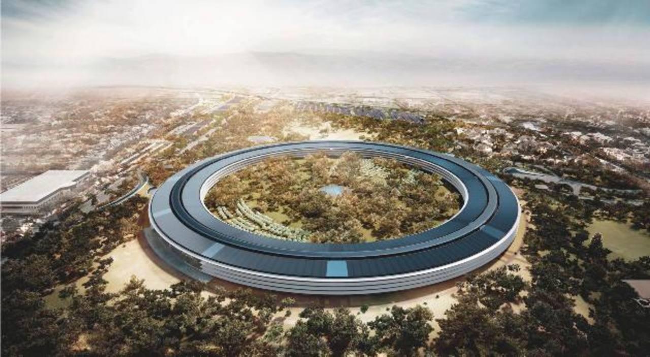 Sedes futuristas para las gigantes tecnológicas