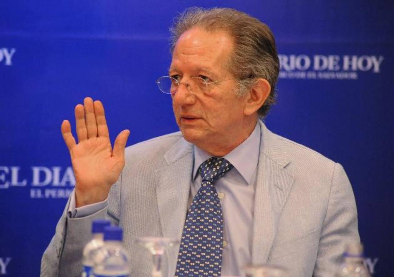 El Dr. Fabio Castillo explicó los alcances del proceso iniciado hace dos años ante la Corte. FOTO EDH