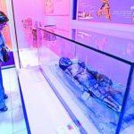 La réplica de la momia roja Chinchorro se encuentra en la sala de religión del Museo Nacional de Antropología (Muna).