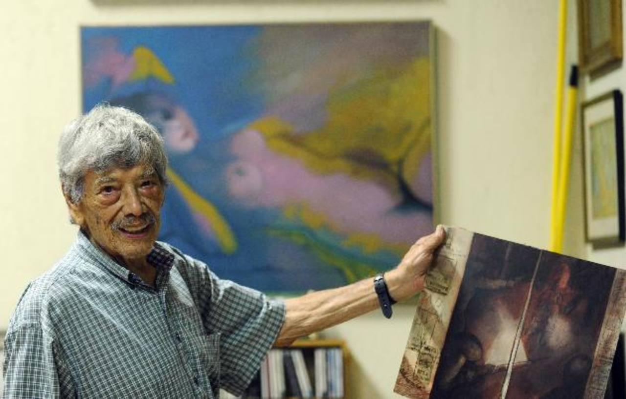 El maestro Carlos Cañas tuvo varias etapas en el desarrollo de su obra y fue precursor de arte abstracto en el país.