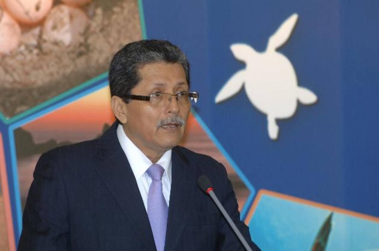 Jaime Miranda, viceministro de Cooperación para el Desarrollo. foto edh /archivo