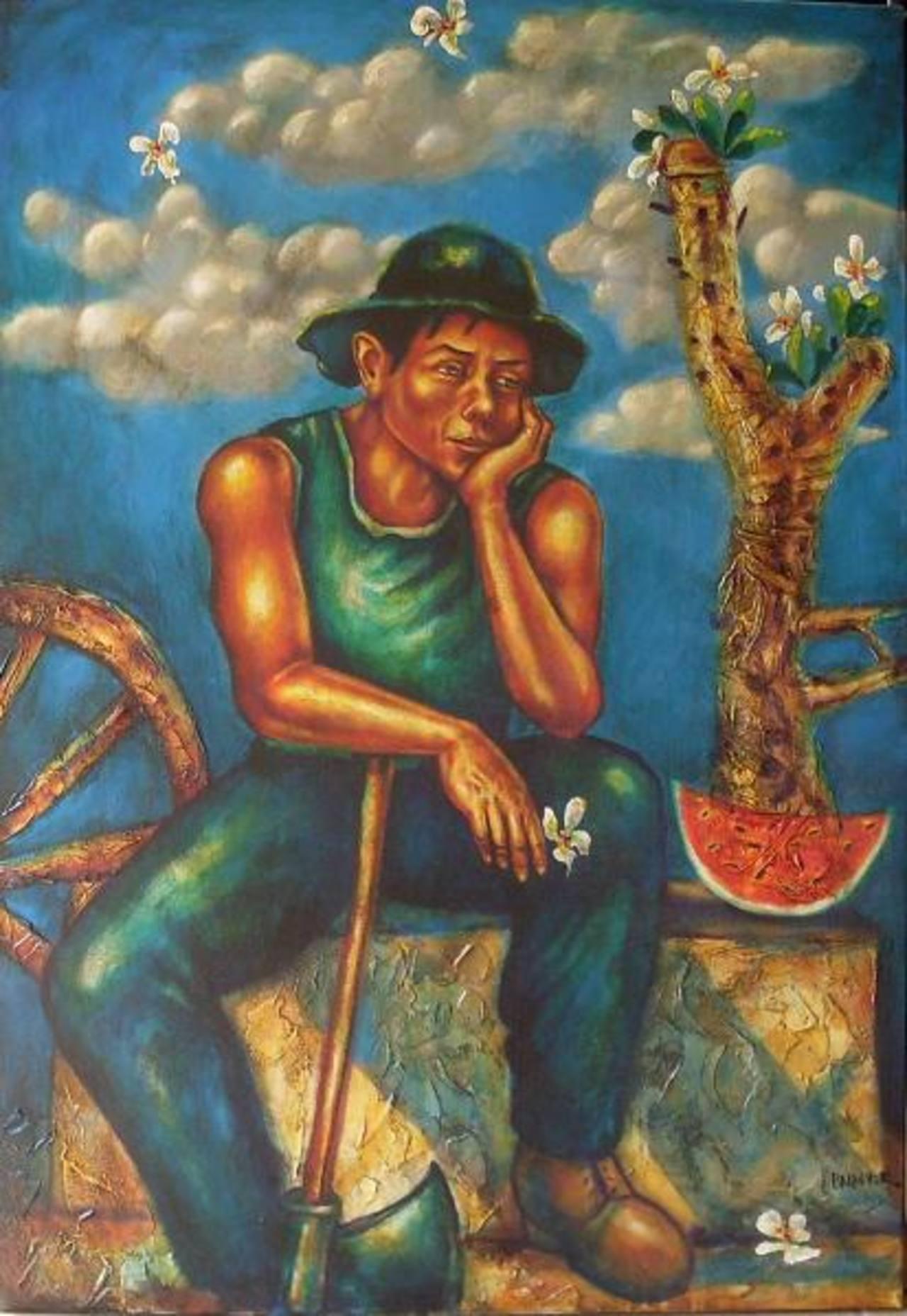 El Sueño del Hachador es una de las obras del pintor.