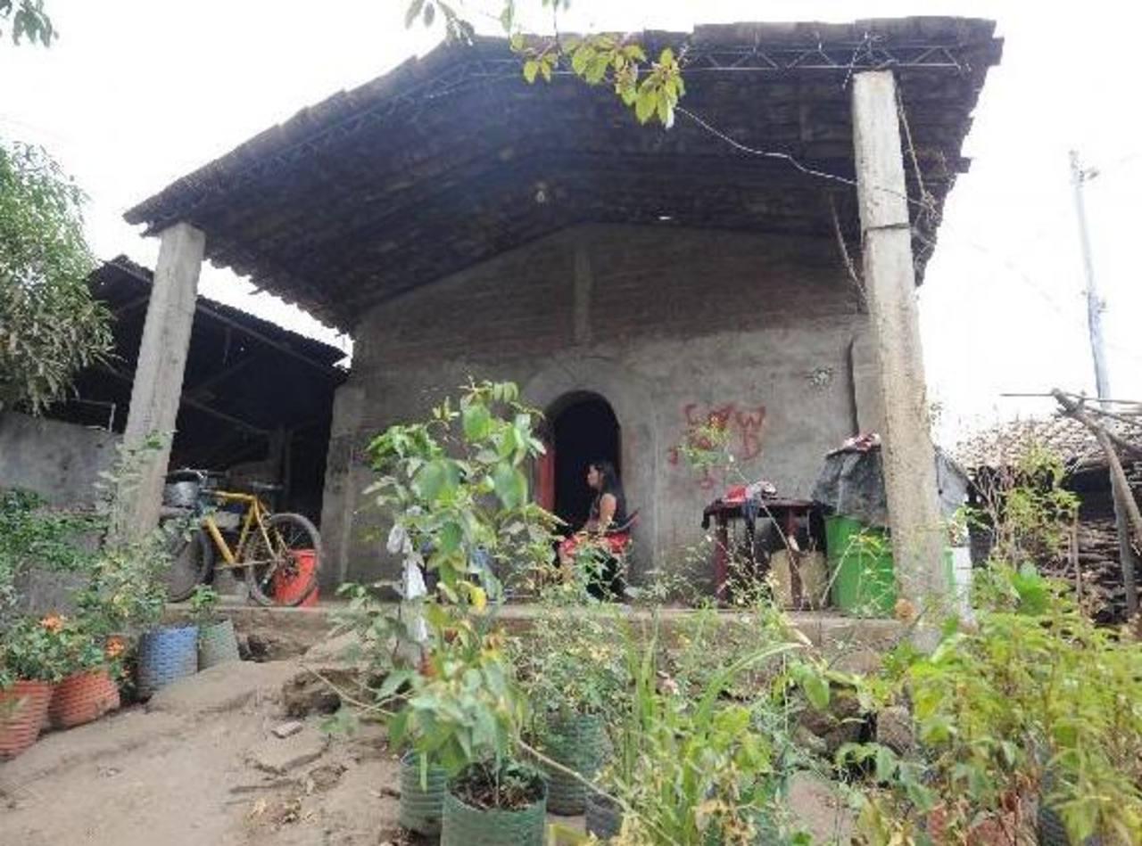 La casa de la mamá de Beatriz en Jiquisco, Usulután