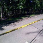 Lugar del hallazgo en calle a Huizúcar. Foto EDH Ángela Castro