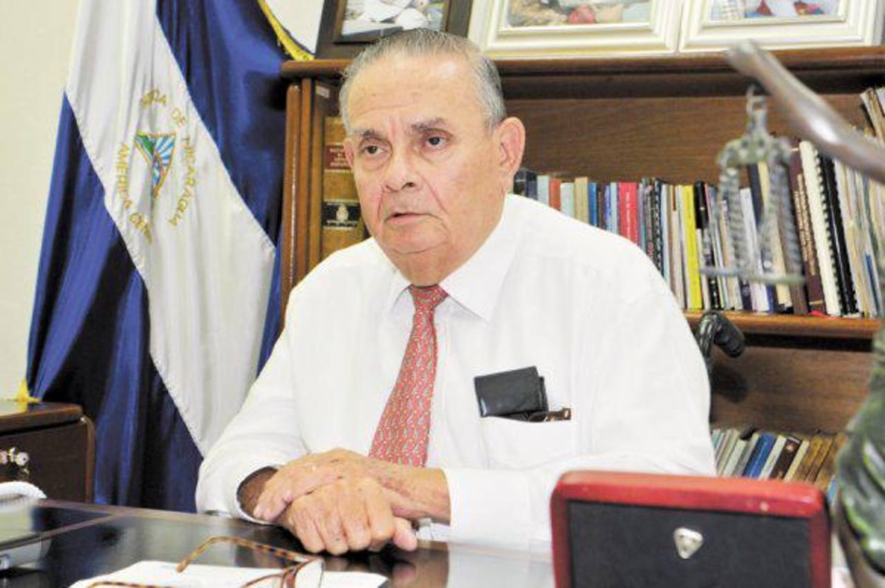 Guillermo Argüello Poessy, presidente de la Contraloría General de la República. Foto EDH / internet