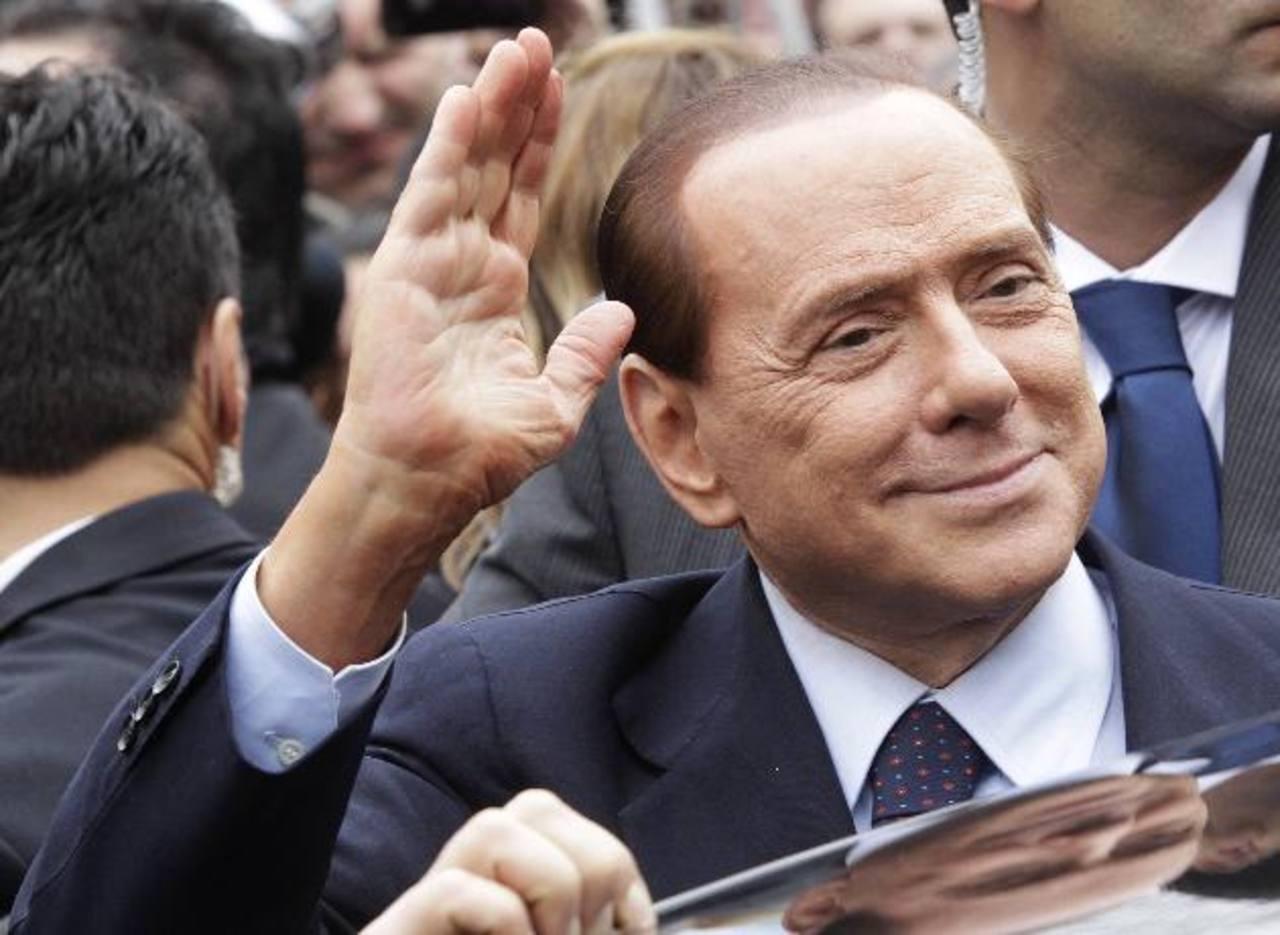 El exprimer ministro italiano Silvio Berlusconi. Foto/ Archivo