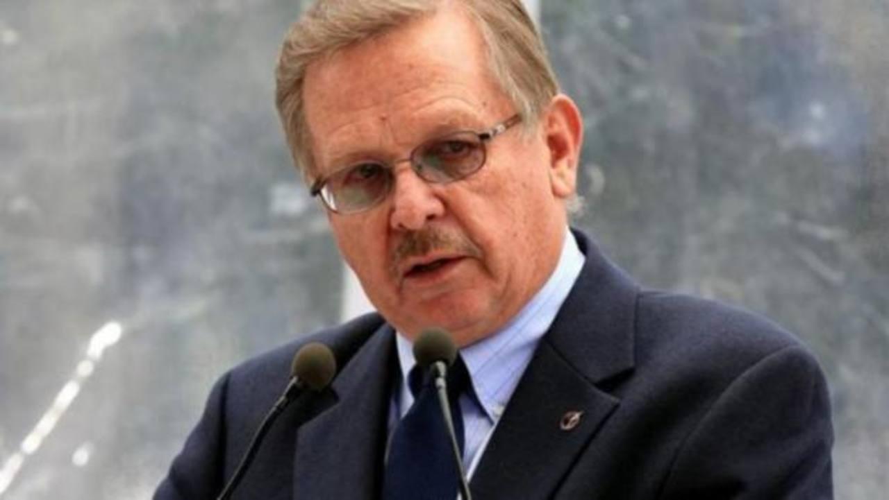 El presidente de la SIP, Jaime Mantilla.