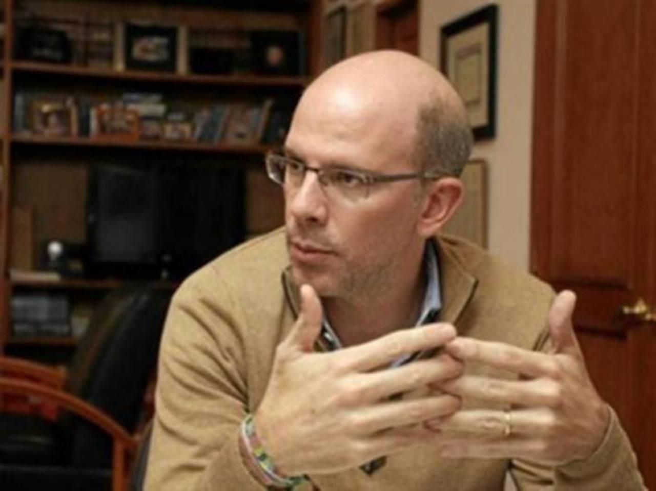 El periodista Ricardo Calderón, jefe de Revista Semana.
