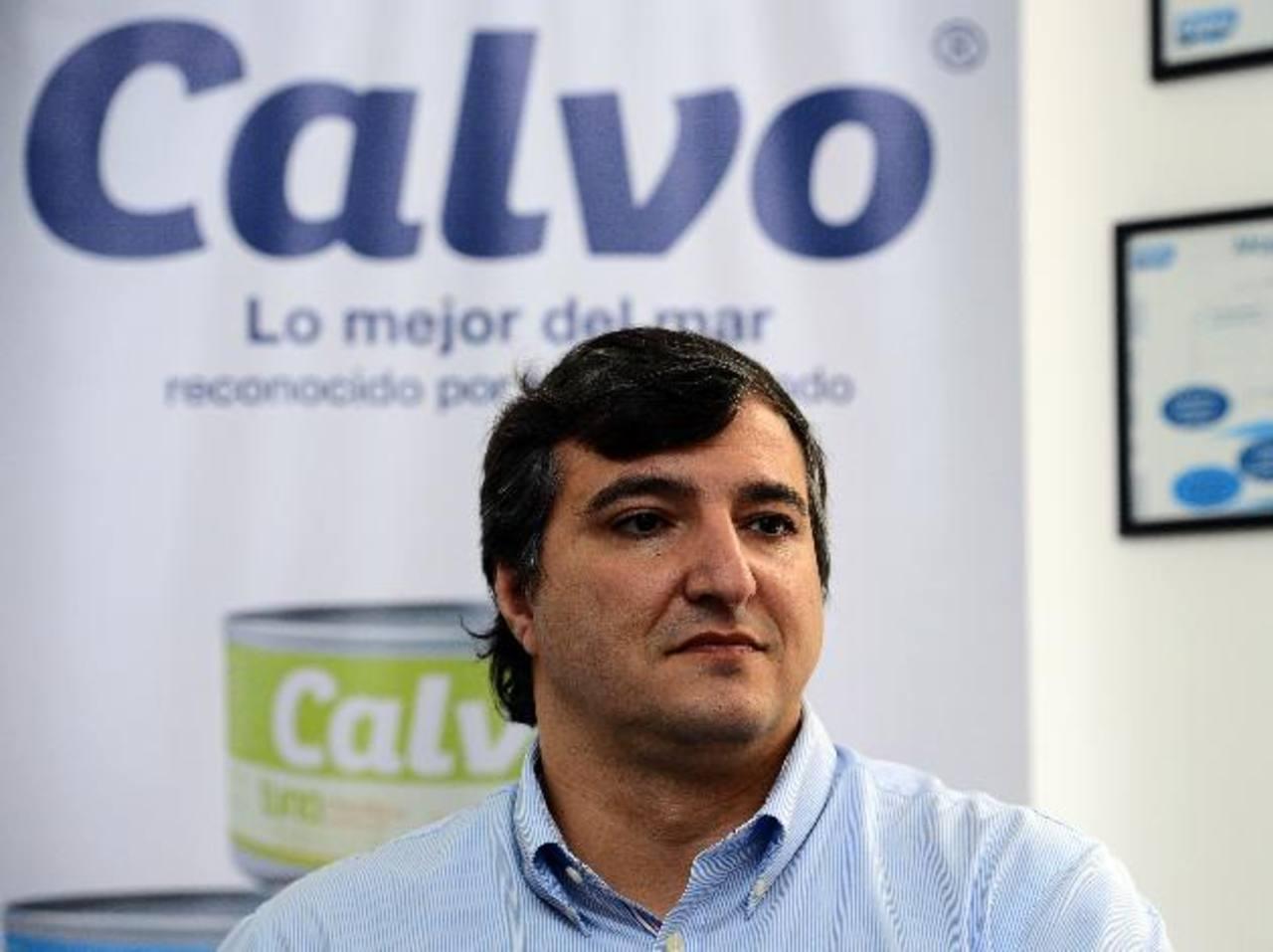 Manuel Calvo, CEO del Grupo Calvo, afirma que los intereses de la firma en el país son los de El Salvador y las autoridades deben defenderlos. FOTO EDH / mario amaya