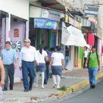 Residentes de Quezaltepeque, que figuraba entre los 20 municipios más violentos del país, pidieron a la Policía mayor seguridad, sobre todo en la zona comercial. Foto EDH / Mauricio Cáceres.