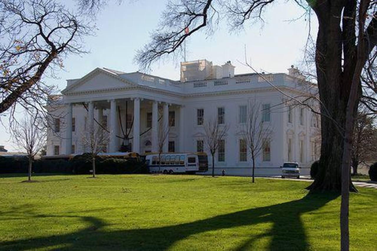 La reunión de los empresarios latinos se desarrolló en la Casa Blanca. Foto edh