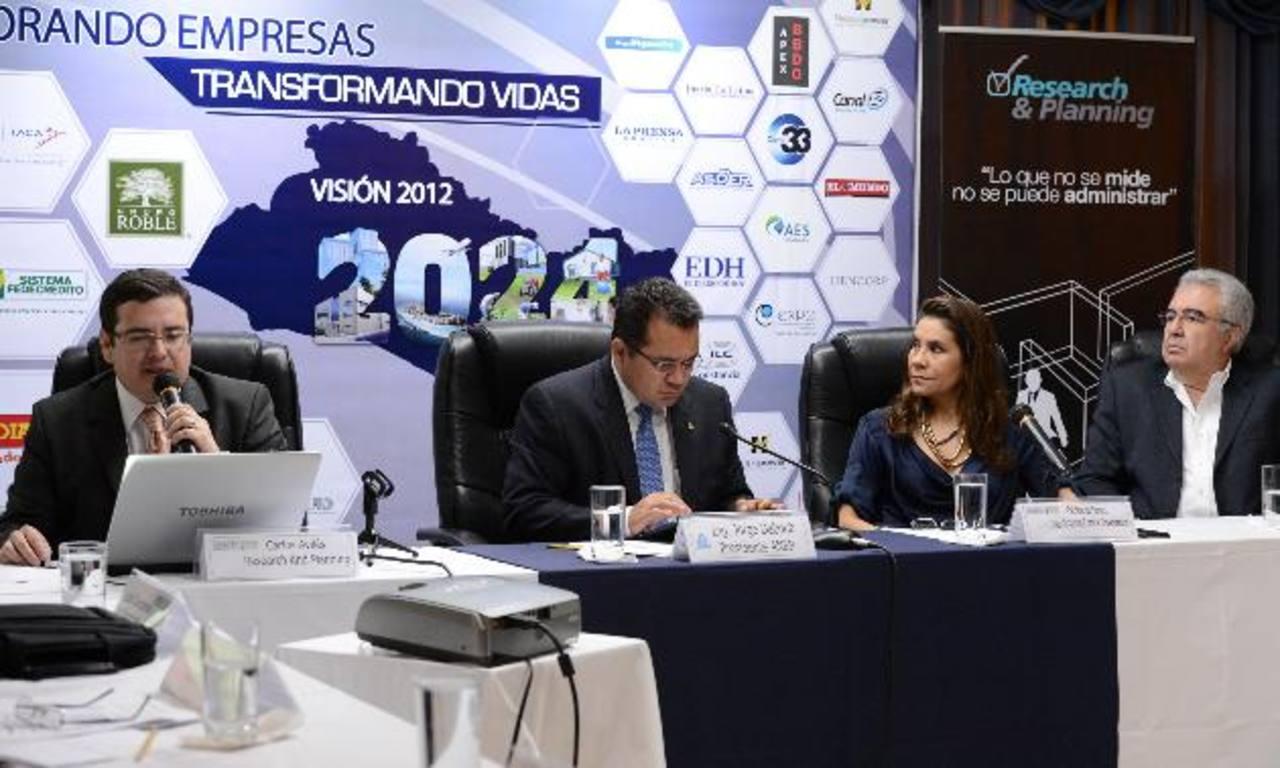 Para la cúpula de la principal gremial empresarial salvadoreña, los cuatro años de gobierno del presidente Mauricio Funes han debilitado el crecimiento económico. FOTO EDH / MAURICIO CÁCERES