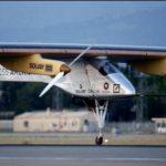 Histórico avión solar aterriza en Arizona