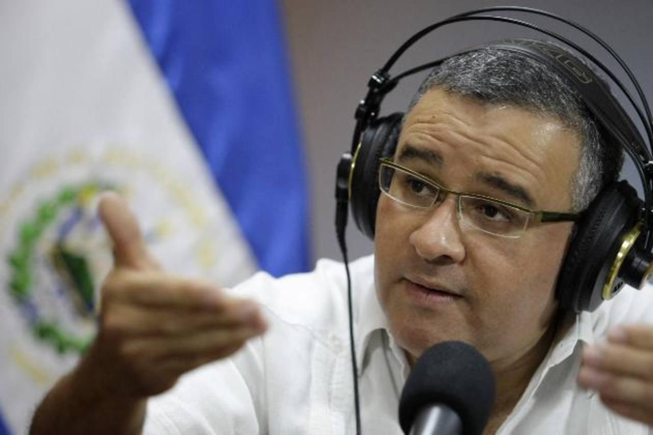 Presidente Mauricio Funes. foto edh / cortesía capres