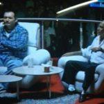 Los pandilleros durante la entrevista en televisión. Foto tomada de Twitter @lexpineda