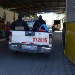 Momento en que el secuestrador ingresó de nuevo al penal de Mariona para cumplir su condena. Foto EDH