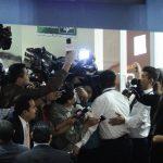 Empleados legislativos impidieron a periodistas pasar a un área donde pasarían los magistrados de Corte de Cuentas.