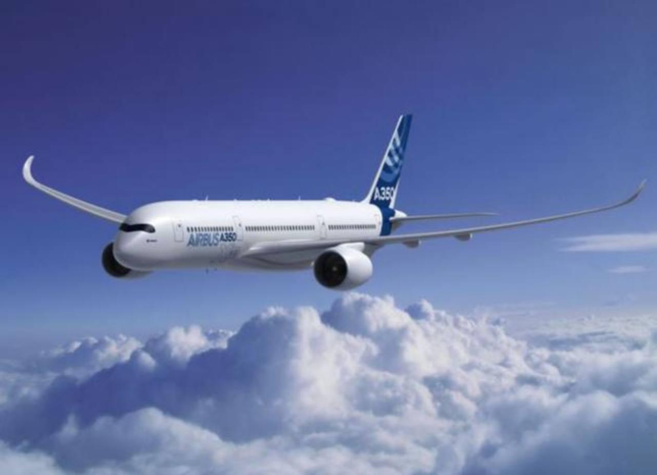 El Airbus A350. FOTO EDH