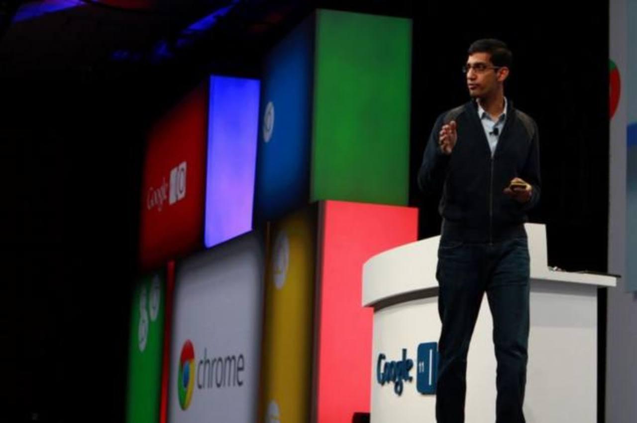 Sundar Pichai, vicepresidente de la división del gigante informático de Android y Chrome