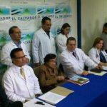 Autoridades de Salud y del Hospital de Maternidad dieron detalles del caso Beatriz. Foto EDH Mauricio Castro
