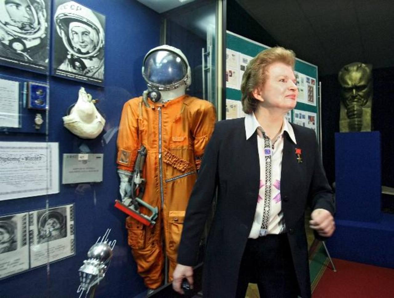 Imagen de archivo durante una reunión con periodistas en la Ciudad de las Estrellas a las afueras de Moscú, Rusia, en 2007.