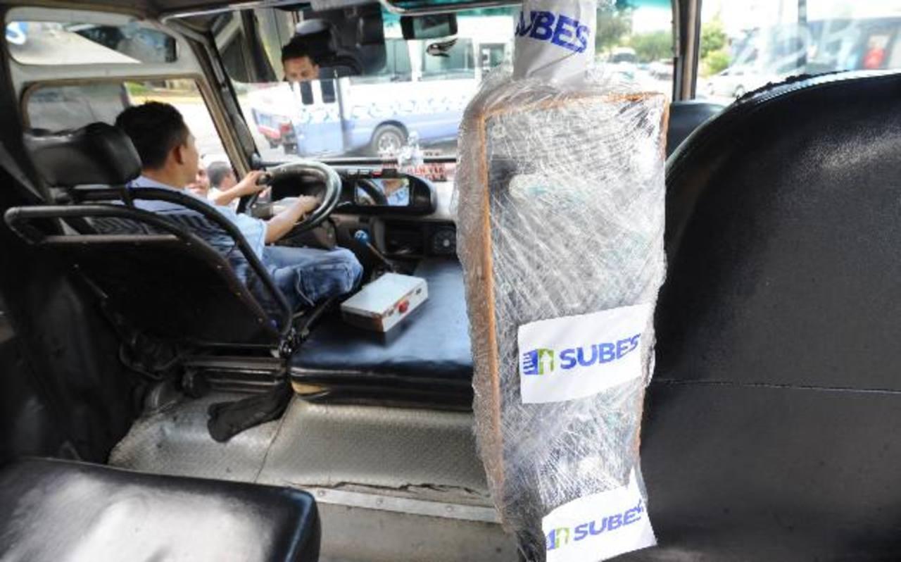 La empresa Subes no precisó el número de rutas que iniciarán con el cobro el 2 de julio. foto edh / claudia castillo