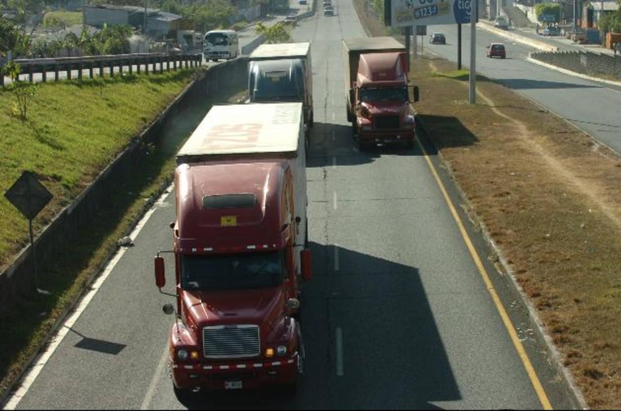 El beneficio será para los transportistas de carga de la zona centroamericana.