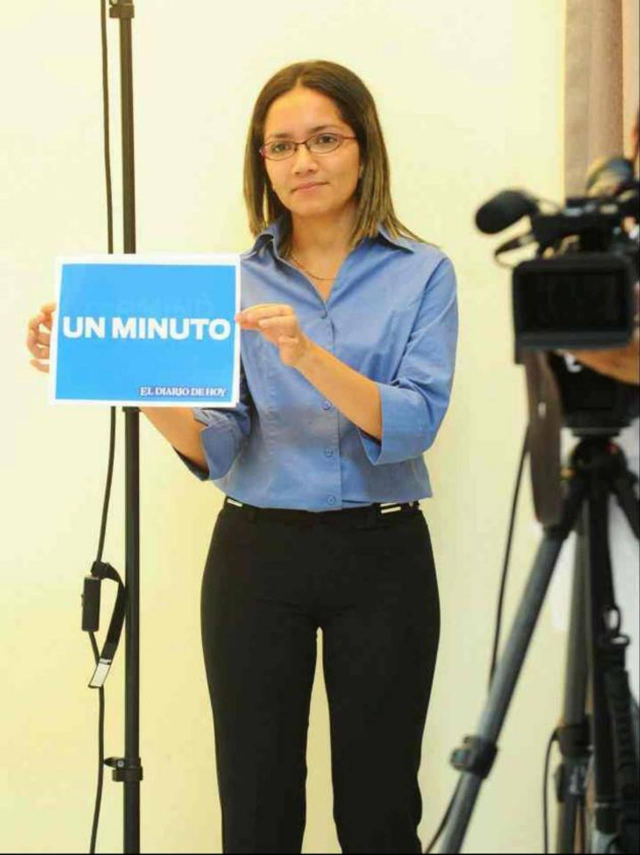La comunicadora Emilia Pacheco aún tiene pendiente una última operación. Foto EDH / Archivo