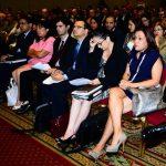 La presentación de los estudios de competencia se realizó en un salón repleto de asistentes. Foto EDH/ ARCHIVO.