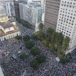 Una de las manifestaciones se concentró en Río de Janeiro. Foto/ Reuters