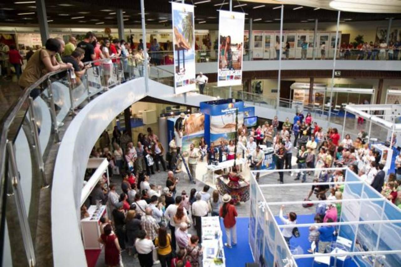 Ayer arrancó la feria Euroal 2013 en la que participa una misión empresarial y gubernamental salvadoreña. foto edH