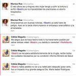 Una promotora del aborto, Mónica Roa, y una presentadora, Célida Magaña, expresan sus puntos de vista sobre lo ocurrido a Beatriz a través de las redes sociales. Foto EDH