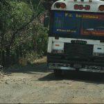 La carretera que conecta la Panamericana con el cantón Placitas en San Miguel será intervenida. La calle a Yucuaiquín fue construida por la comuna de la localidad, que ahora reclama a Fovial que le dé el mantenimiento rutinario. Fotos EDH / francisco
