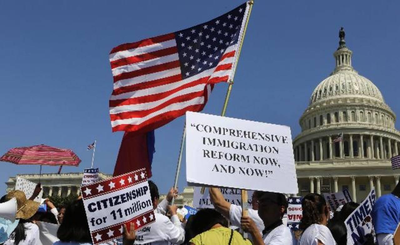 Los inmigrantes indocumentados en EE.UU. abogan por una pronta aprobación definitiva de la reforma. foto edh/ Reuters