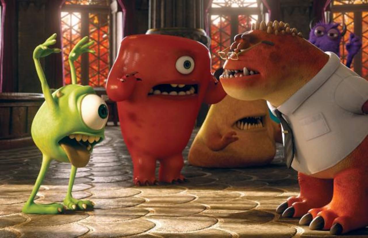 """El actor Alfred Molina usó su imaginación para moldear la personalidad del académico de """"Monsters University""""."""