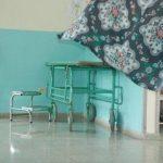 La mujer permaneció bajo custodia policial en el hospital San Juan de Dios de San Miguel. Foto/ Archivo