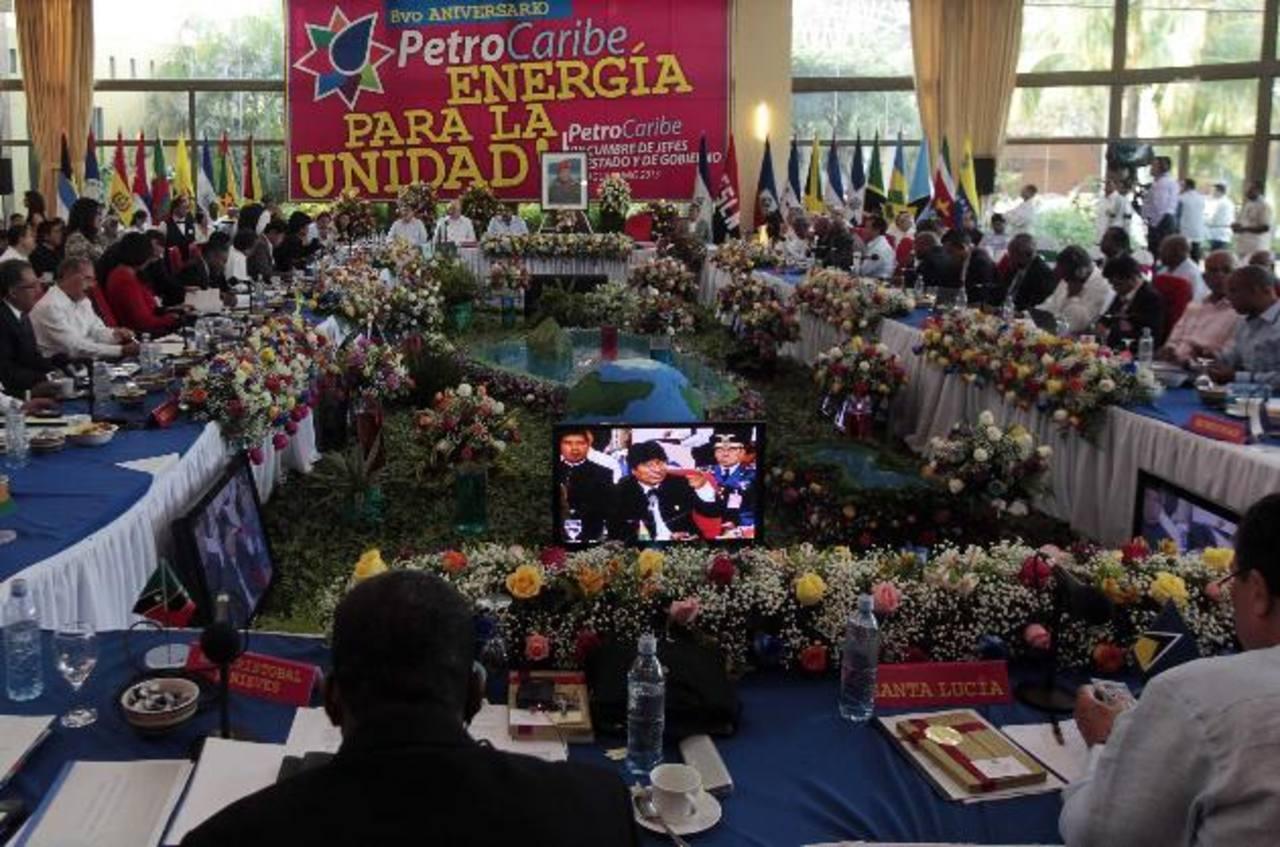 La VIII cumbre de Petrocaribe concluirá este día en Managua, Nicaragua. El encuentro duró tres días. fotos edh / agencias