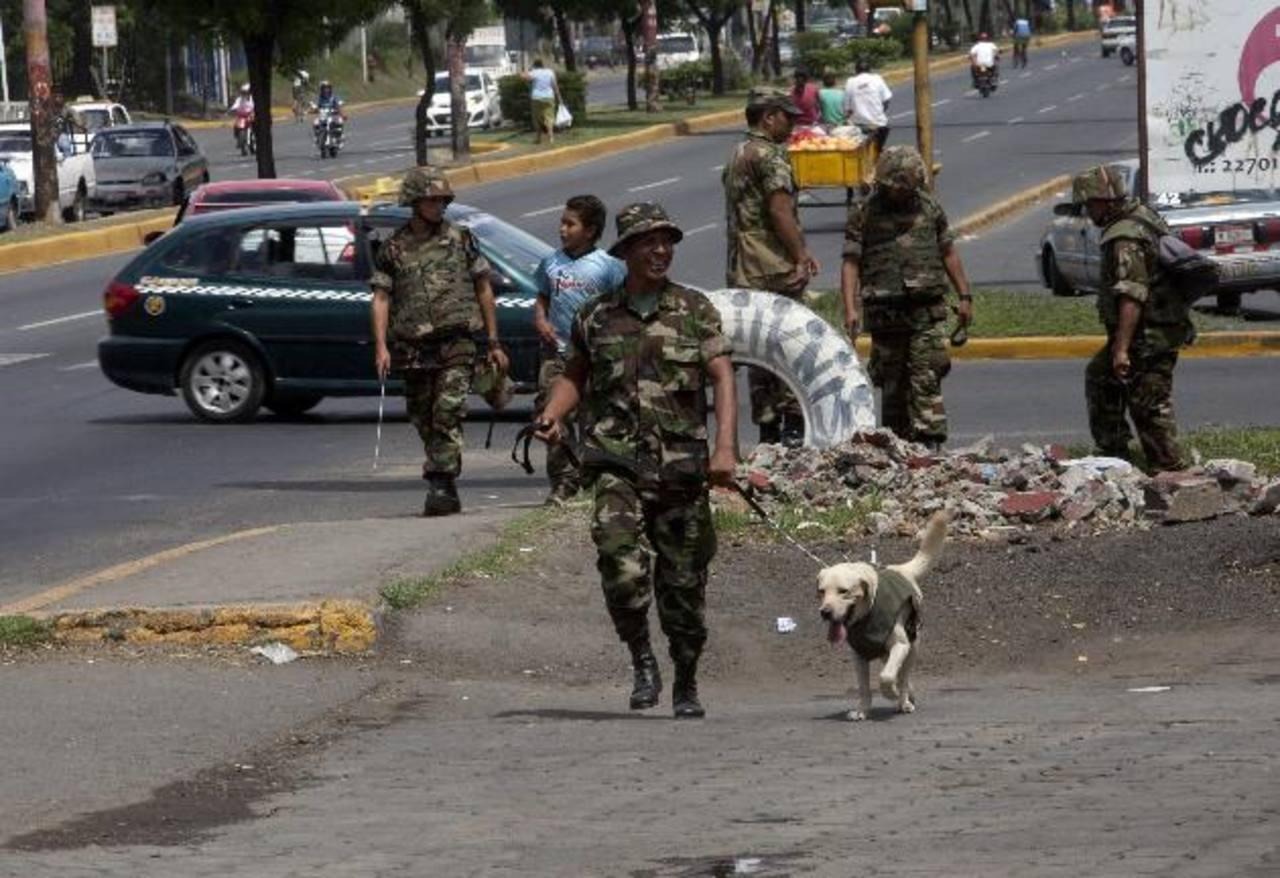 La seguridad en Managua se ha reforzado ante la llegada de los mandatarios. Entre ellos han confirmado el venezolano Nicolás Maduro y el boliviano Evo Morales. foto edh / efe