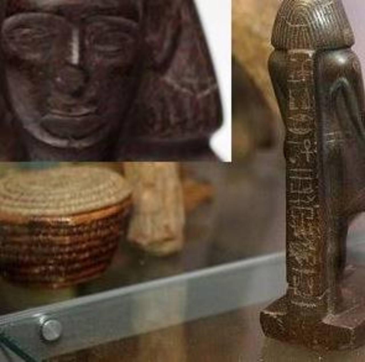 Vídeo: Estatuilla gira sola en el museo de Manchester