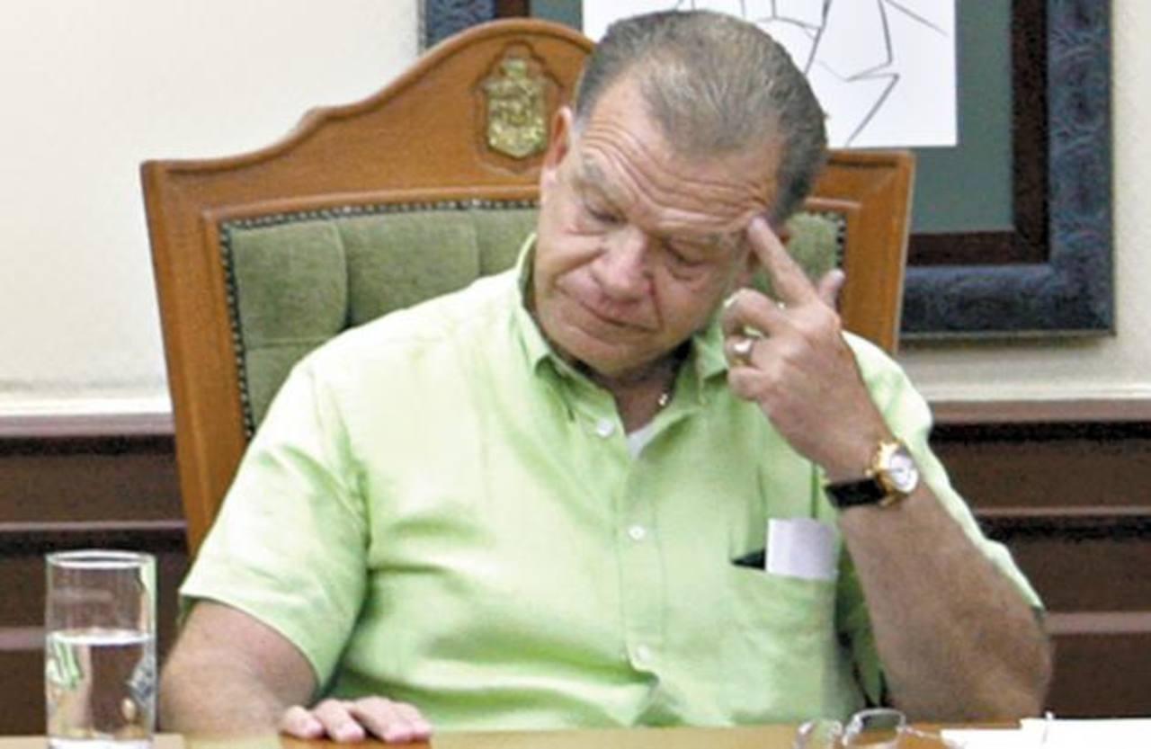 Andrés Granier, exgobernador de Tabasco. foto edh