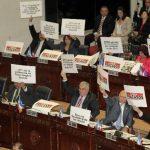 Diputados critican cuarto año de gestión gobierno Funes. FOTO EDH