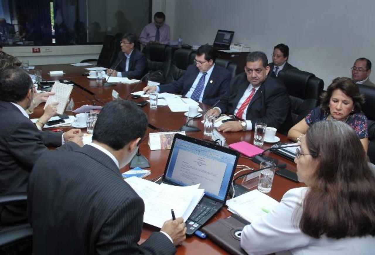 La Comisión de Reformas Electorales pidió que la aprobación de la ley se haga en plenaria especial. foto edh/ jorge reyes