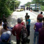 Lugar donde fue asesinado un taxista, en Chalatenango. FOTO EDH/ARCHIVO